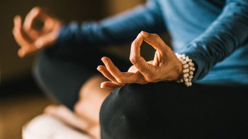 Meditation and concentration Exercise to feel calm